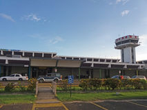 Belize city airport. The international airport of belize city Stock Images