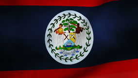 Belize country flag Royalty Free Stock Photography