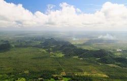 Belize do ar imagens de stock royalty free