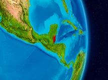 Belize do espaço Foto de Stock