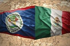 Belize ed il Messico Immagini Stock Libere da Diritti