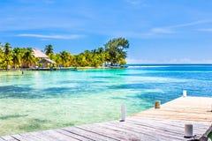 Belize, een tropisch paradijs in Midden-Amerika royalty-vrije stock foto