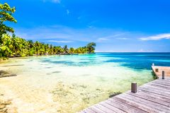 Belize, een tropisch paradijs in Midden-Amerika stock foto's