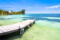 Belize, een tropisch paradijs in Midden-Amerika stock afbeeldingen