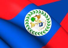 belize flagę Zdjęcie Stock
