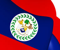 belize flagę Zdjęcia Stock