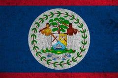 Belize flag Stock Photos