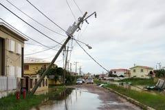 Belize hurricane Royalty Free Stock Photos