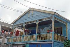 Belize hus Arkivbilder