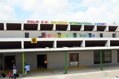 Belize lotnisko fotografia royalty free