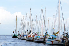 Belize łodzie Fotografia Royalty Free