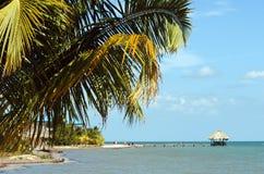 Belize, penisola Placencia Immagini Stock Libere da Diritti