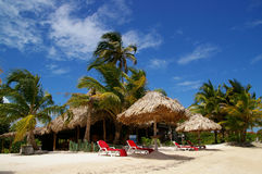 Belize resort Royalty Free Stock Images