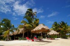 Belize resort. Beach resort in Belize, Central America Royalty Free Stock Images