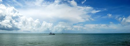 Belize Sky Royalty Free Stock Photos