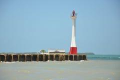 Belize-Stadt-Leuchtturm Stockbild