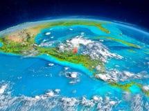 Belize su terra Fotografia Stock Libera da Diritti