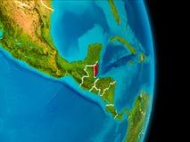 Belize su terra Fotografia Stock