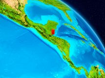 Belize su terra Immagini Stock Libere da Diritti