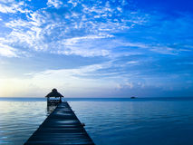 Belize Sunrise Royalty Free Stock Photo