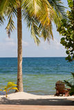 Belize, tropical  beach Royalty Free Stock Image