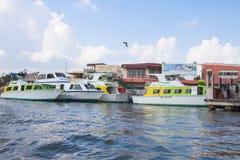 Belize wody taxi Zdjęcia Stock
