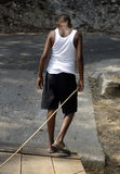 Belizean Boy royalty free stock photography