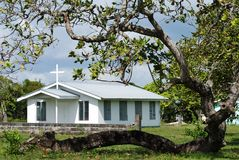 Belizean Countryside Church Royalty Free Stock Images