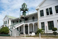 Belizean Courthouse Royalty Free Stock Images