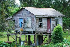 Belizean Village House Royalty Free Stock Images