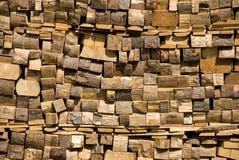 belki stropowe ściany Obraz Stock