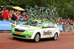 Belkin Pro Cycling Team Royalty Free Stock Photography