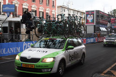 Belkin team car Royalty Free Stock Photography