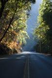 belkowaty drogowy słońce Obrazy Stock