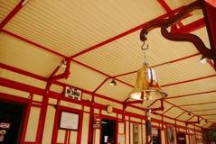 Bell à la gare ferroviaire Image stock