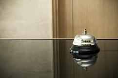 Bell à la réception image libre de droits