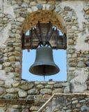 Bell à la vieille mission San Miguel image libre de droits