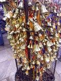 Bell świątynia wszystkie mali dzwony obrazy stock