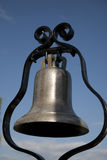 Bell. Golden Bell in the sky Royalty Free Stock Photo