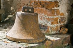 Bell. The image of an old rusty bell Royalty Free Stock Image