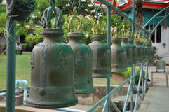 Bell. In the temple, Thailand Royalty Free Stock Image