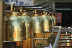 Bell. In nakhon-pathom temple, thailand Royalty Free Stock Photo
