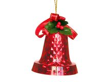 Bell. Christmas tree decoration Royalty Free Stock Photos