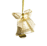 Bell. Christmas bell isolated on white background Royalty Free Stock Images