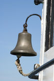 Bell. A bell on the ship royalty free stock images