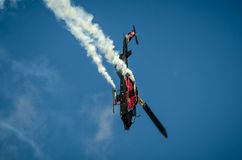 Bell AH-1 Cobra display during Radom Air Show 2013 Royalty Free Stock Photo