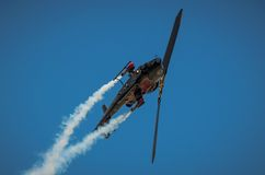 Bell AH-1 Cobra display during Radom Air Show 2013 Royalty Free Stock Photos