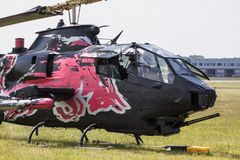 Bell AH-1 kobra Obrazy Royalty Free