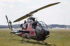 Bell AH-1 kobra Fotografia Royalty Free