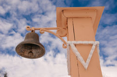 Bell for alarm Royalty Free Stock Photography